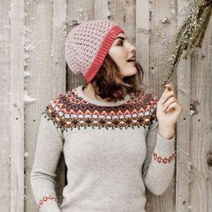 Boden Fair Isle Nordic Wool High Jinks Sweater 8